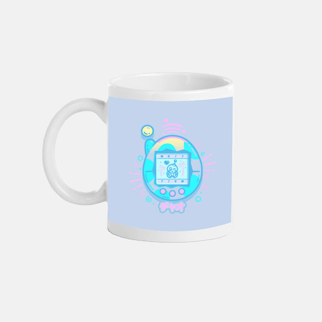Virtual Pet-none glossy mug-Minilla
