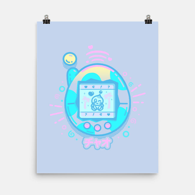 Virtual Pet-none matte poster-Minilla
