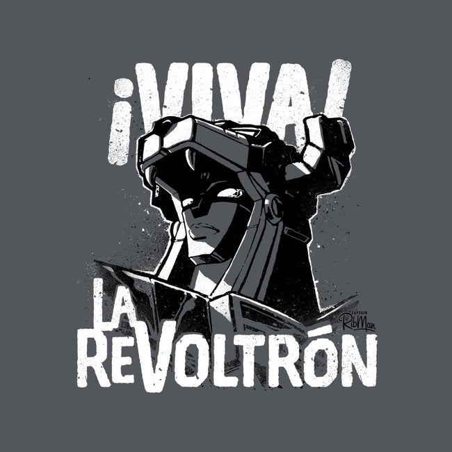 Viva la Revoltron!-none glossy sticker-Captain Ribman
