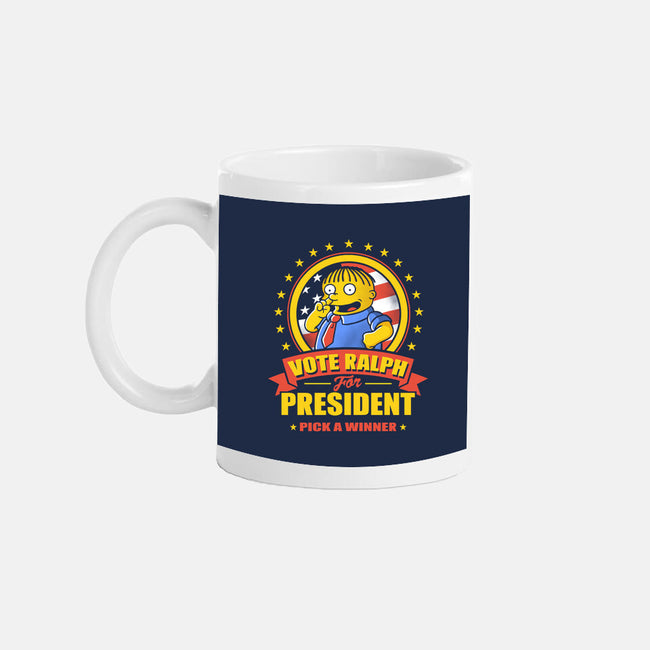 Vote Ralph-none glossy mug-JBaz
