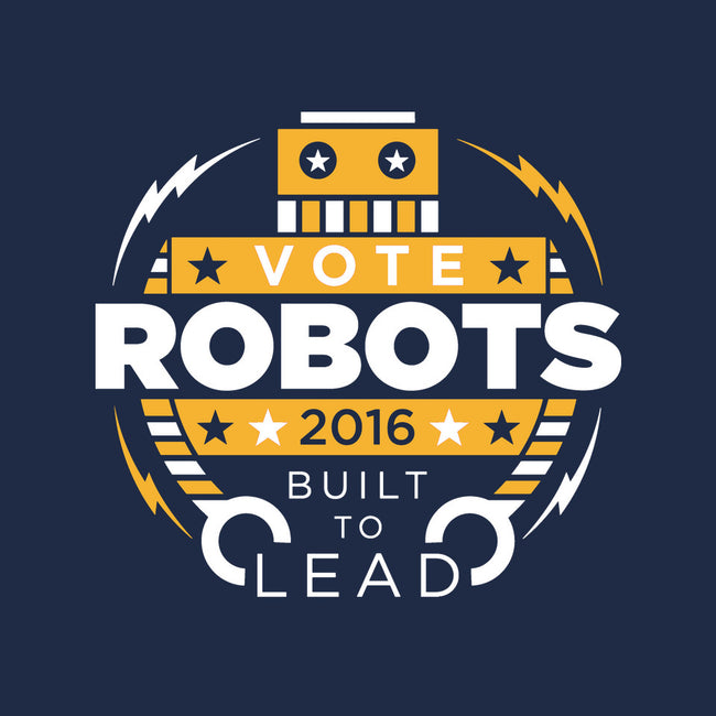 Vote Robots-none glossy sticker-AJ Paglia