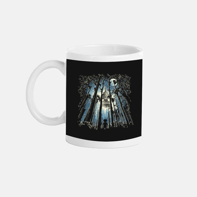 UFO In The Trees-none glossy mug-dalethesk8er