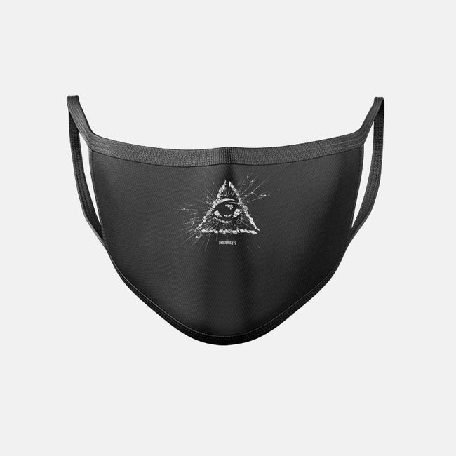 Under His Eye-unisex basic face mask-department
