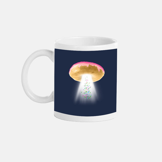 Unidentified Frying Object-none glossy mug-jerbing