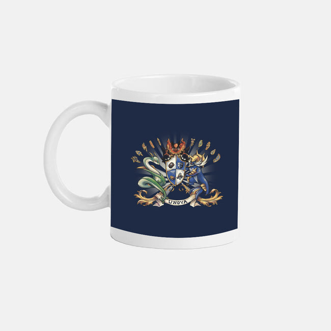 Unova Coat of Arms-none glossy mug-astrorobyn