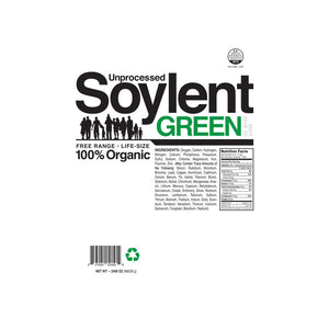 Unprocessed Soylent Green