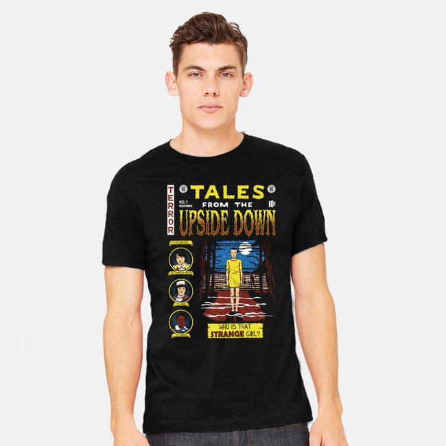 Tales from the Upside Down-mens heavyweight tee-Olipop