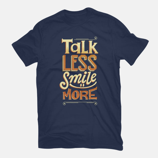 Talk Less-mens heavyweight tee-risarodil