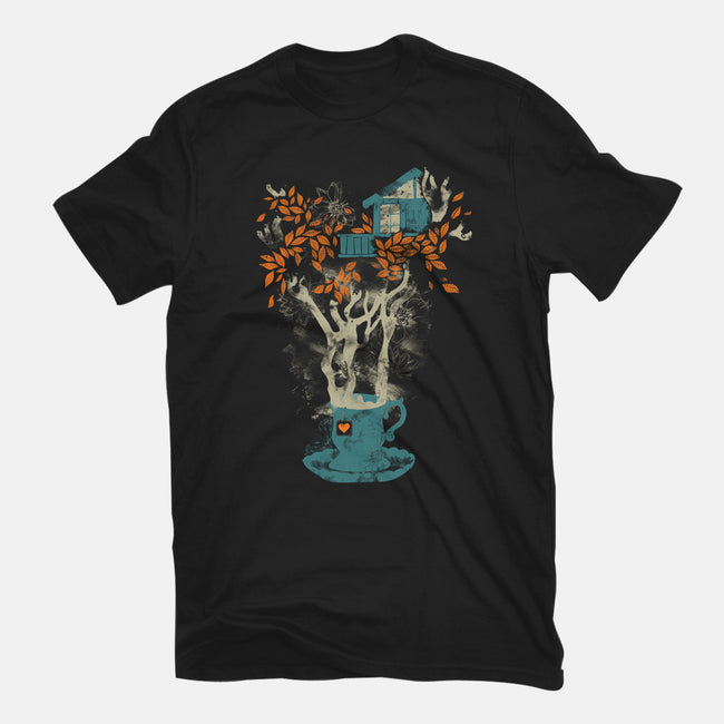 Tea House-mens heavyweight tee-tobefonseca