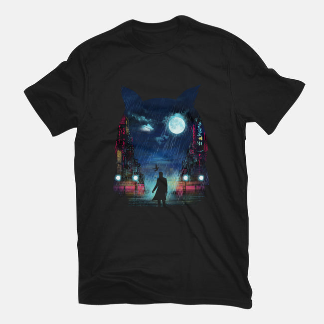Tears In The Rain-mens heavyweight tee-dandingeroz