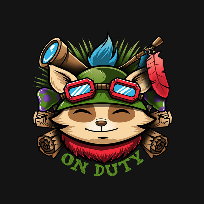 Teemo On Duty-mens heavyweight tee-Bamboota