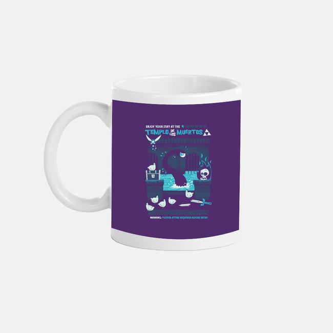 Temple of the Dead-none glossy mug-jublin