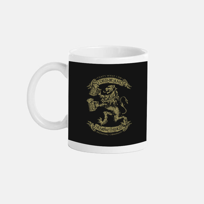 That's What I Do Brewing Co.-none glossy mug-roosterbrand