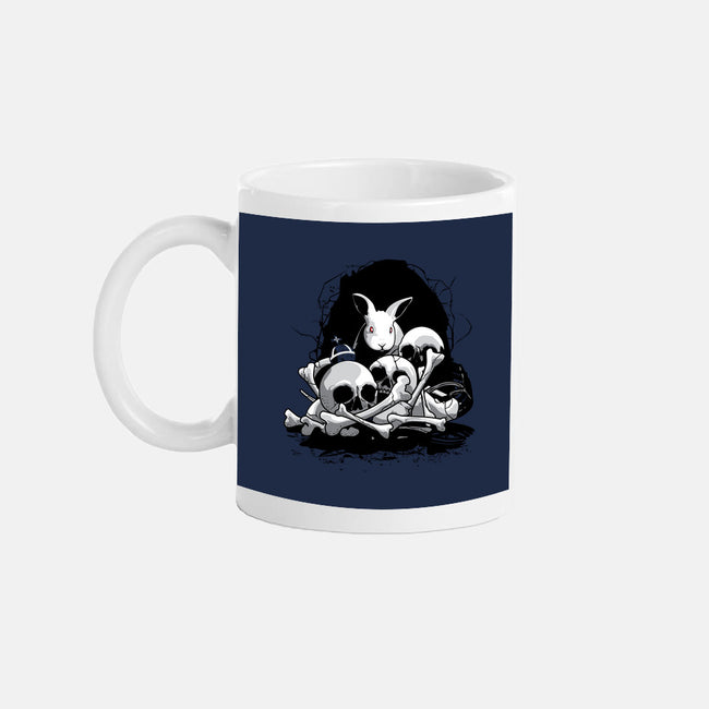 The Beast of Caerbannog-none glossy mug-Adams Pinto