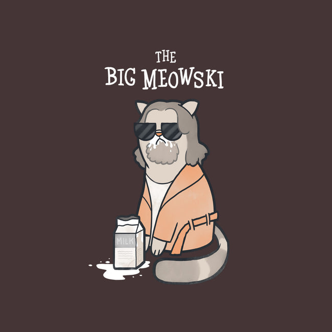 The Big Meowski-mens heavyweight tee-queenmob