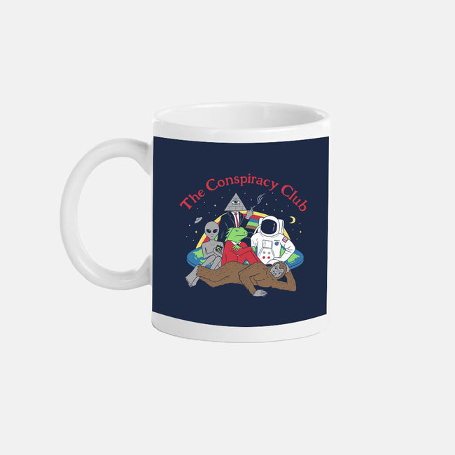 The Conspiracy Club-none glossy mug-Gamma-Ray