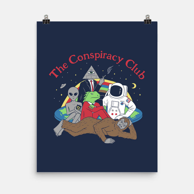 The Conspiracy Club-none matte poster-Gamma-Ray