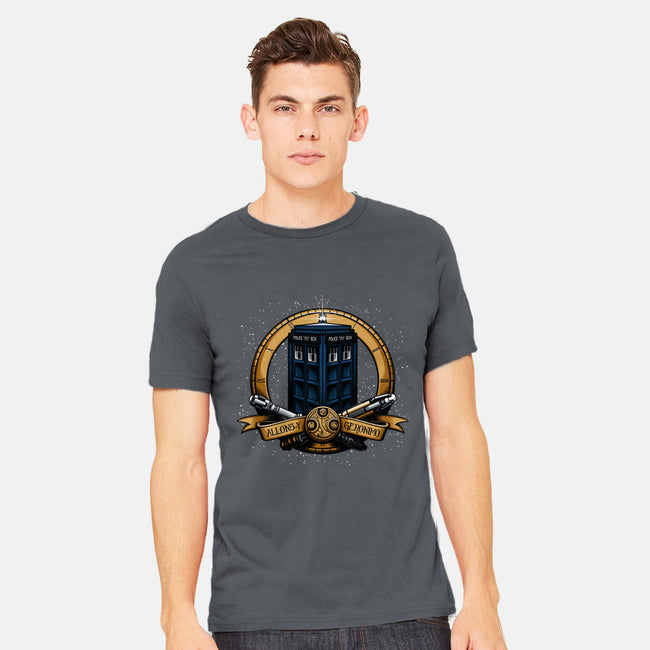 The Day of the Doctor-mens heavyweight tee-Six Eyed Monster