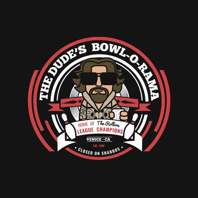 The Dude's Bowl-O-Rama-mens heavyweight tee-ztrover