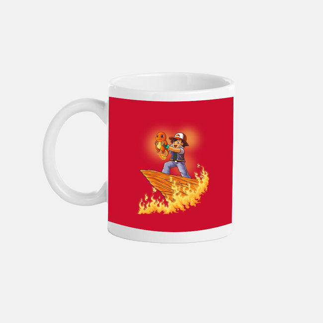 The Fire King-none glossy mug-TonyCenteno