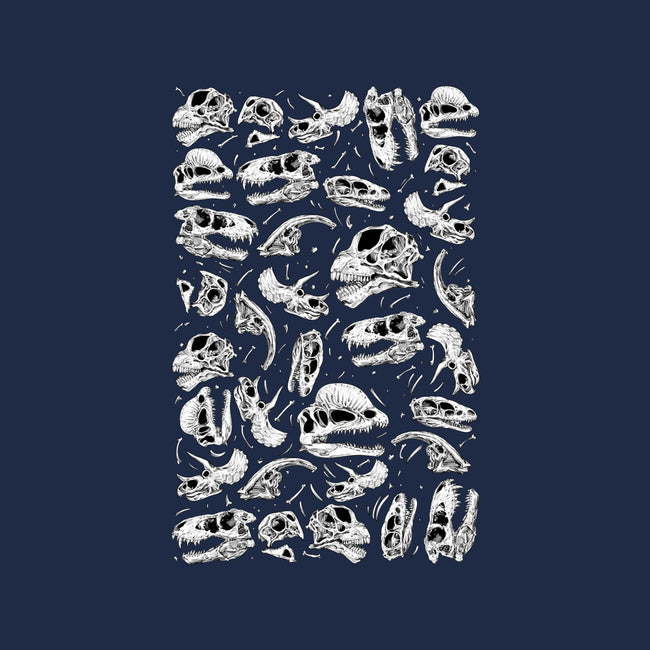 The Fossil Bed-mens heavyweight tee-Paintchips