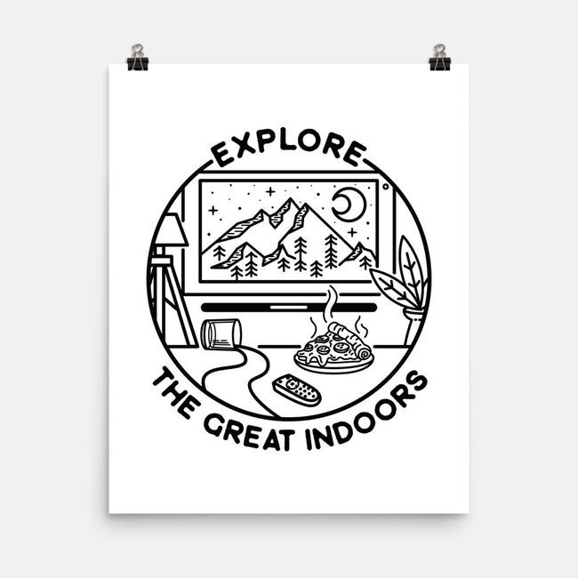 The Great Indoors-none matte poster-beware1984