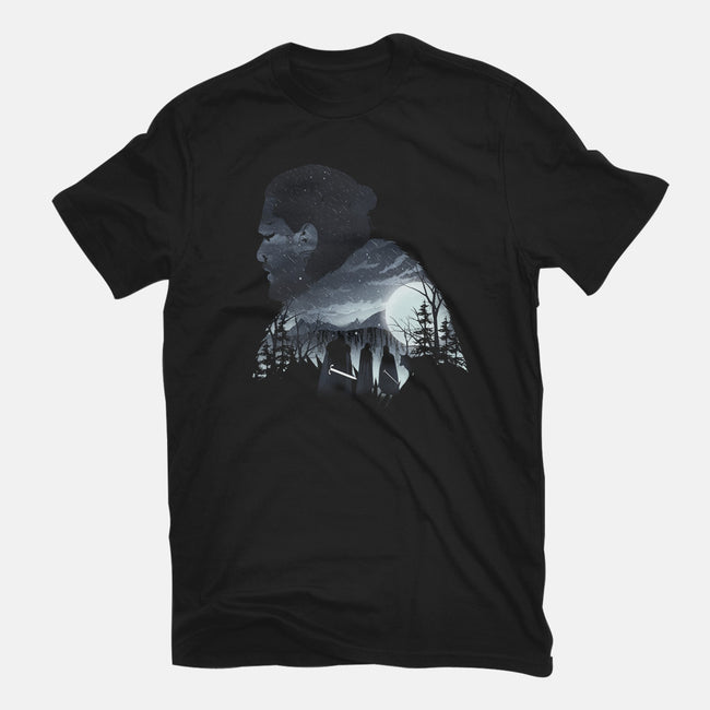 The King in the North-mens heavyweight tee-dandingeroz