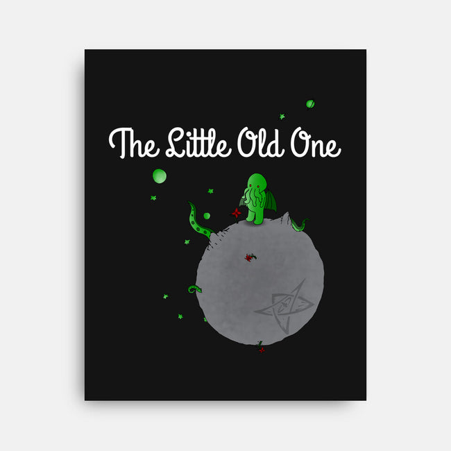 The Little Old One-none stretched canvas-Manoss1995