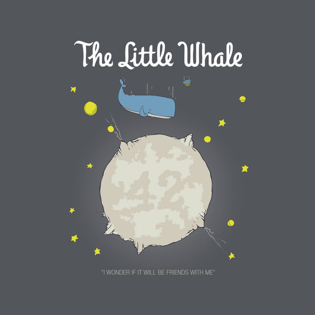 The Little Whale-none stretched canvas-maped