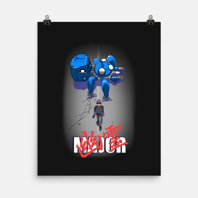 The Major-none matte poster-SarahCave