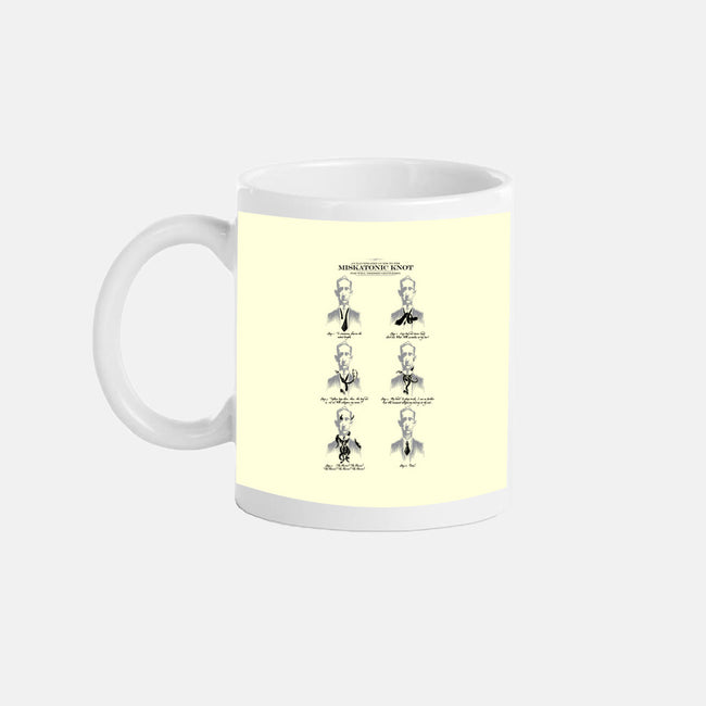 The Miskatonic Knot Guide-none glossy mug-sixamcrisis