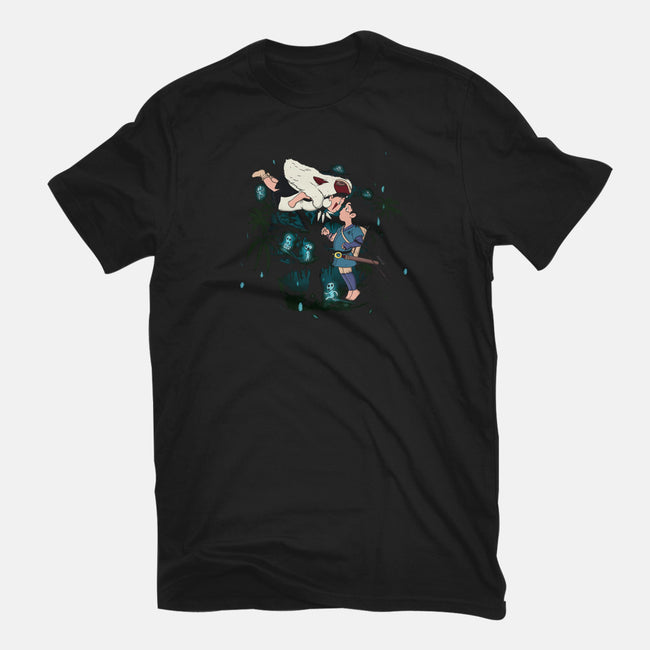 The Mononoke Spell-mens heavyweight tee-MarianoSan