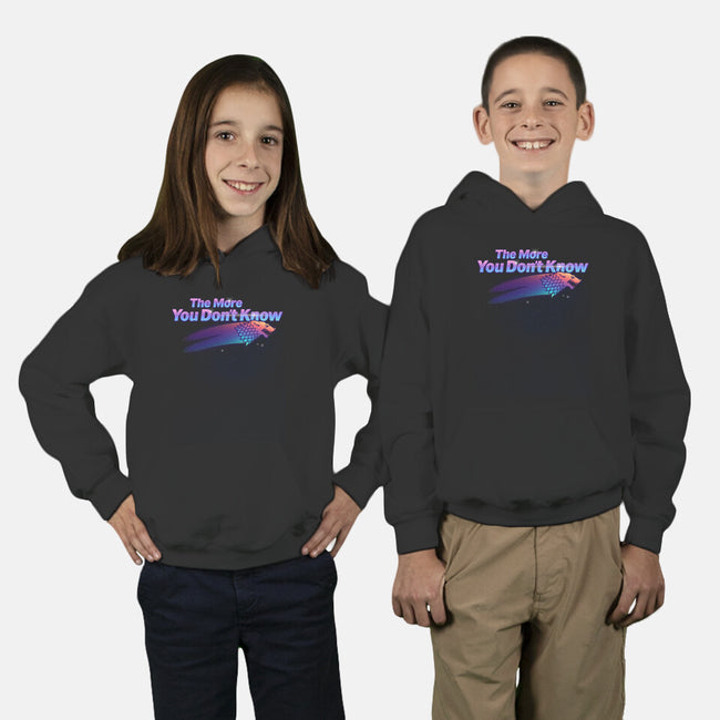 The More You Don't Know-youth pullover sweatshirt-craftsman