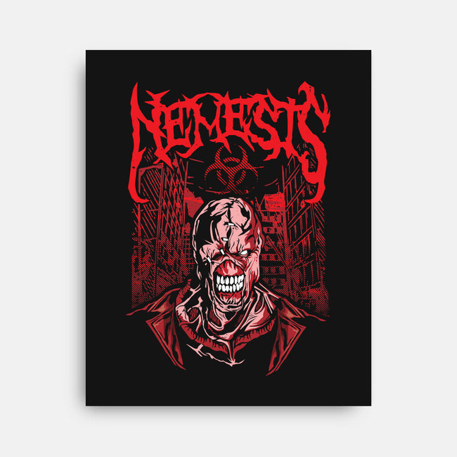 The Nemesis-none stretched canvas-draculabyte