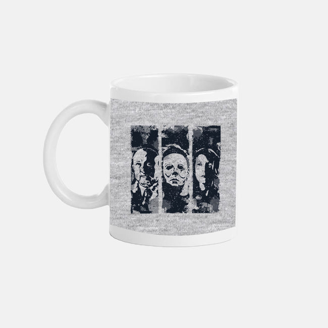 The Night With the Masks-none glossy mug-manospd