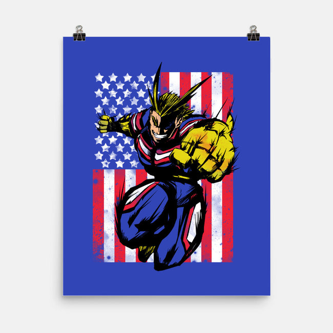 The Number One Hero!-none matte poster-Genesis993