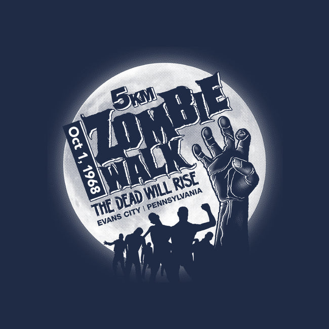 The Original Zombie Walk-mens basic tee-RubyRed