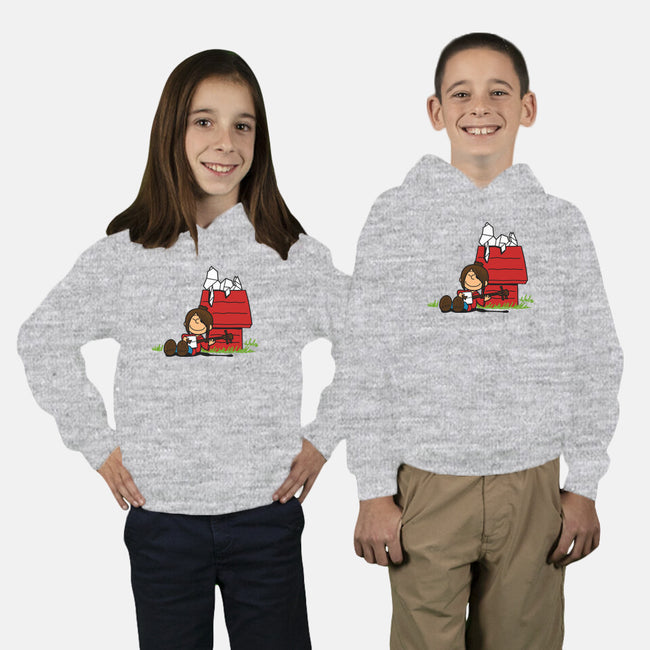 The Storyteller and His Origami-youth pullover sweatshirt-Boggs Nicolas