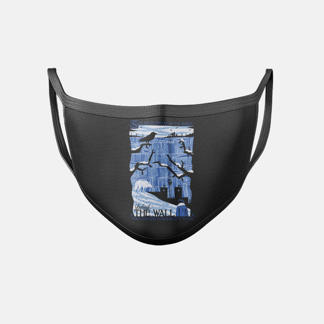 The Wall-unisex basic face mask-jublin