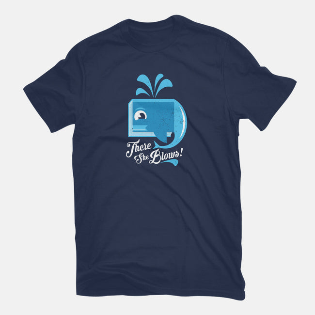 There She Blows-mens heavyweight tee-jrberger