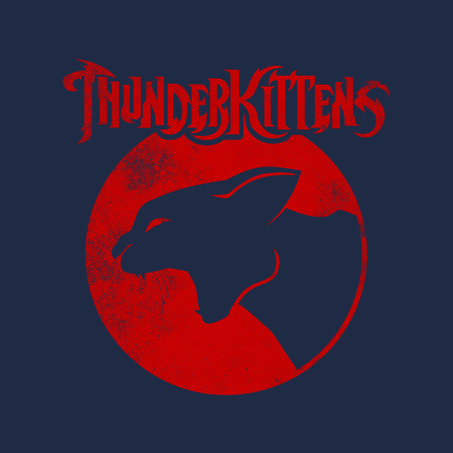 ThunderKittens-none glossy sticker-Robin Hxxd