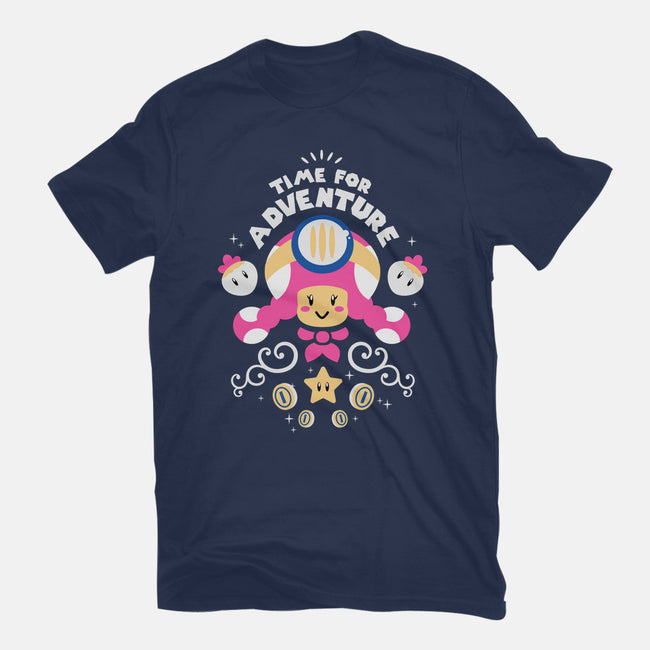 Time for Adventure, Toadette-mens heavyweight tee-aflagg
