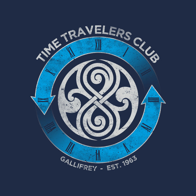 Time Travelers Club-Gallifrey-none stretched canvas-alecxpstees