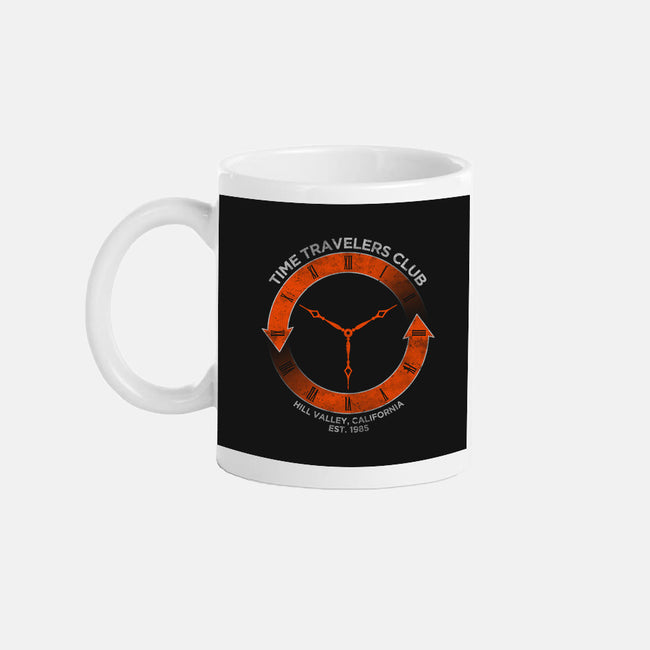 Time Travelers Club-Hill Valley-none glossy mug-alecxpstees
