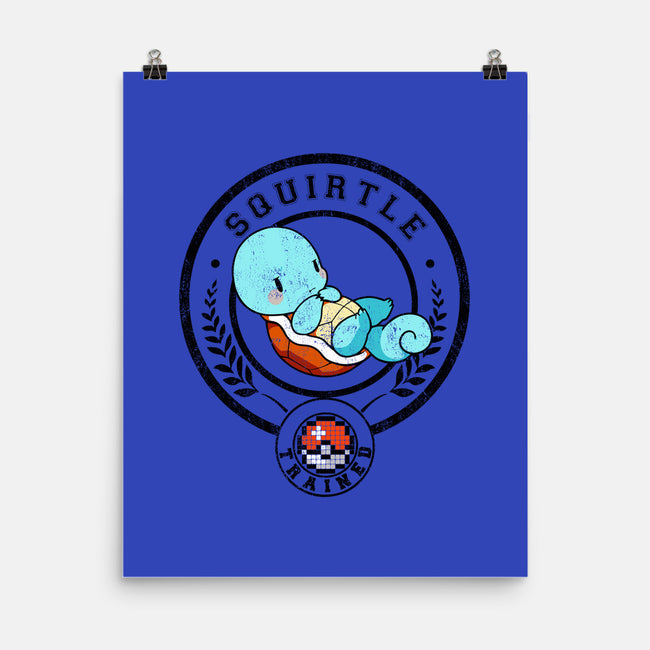 Tiny Turtle Trained-none matte poster-Huino