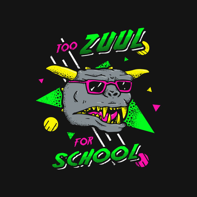 Too Zuul for School-none matte poster-Tabners