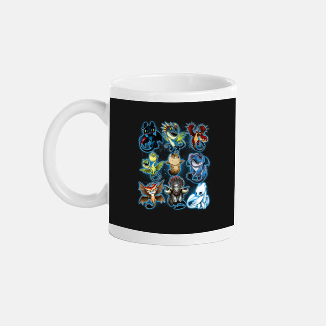 Trained Dragons-none glossy mug-alemaglia
