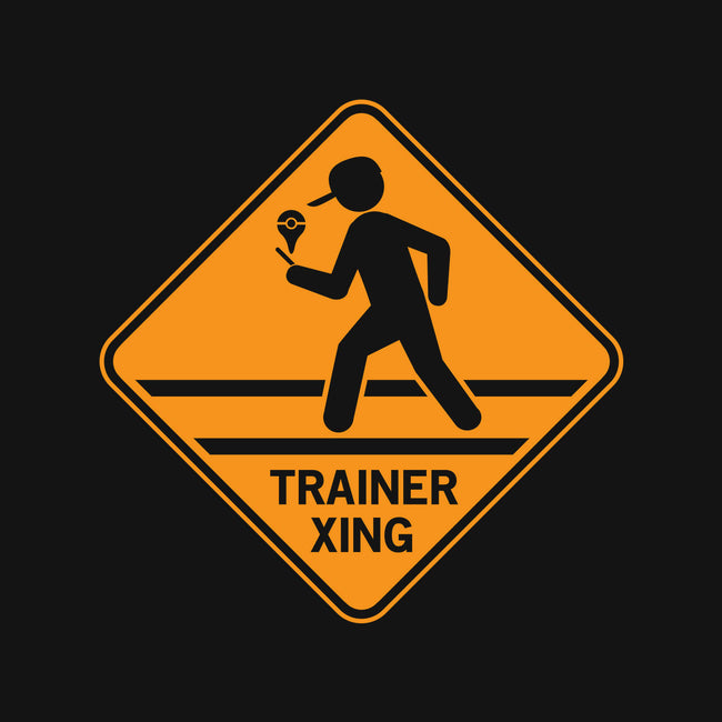 Trainer Xing-none matte poster-famousafterdeath