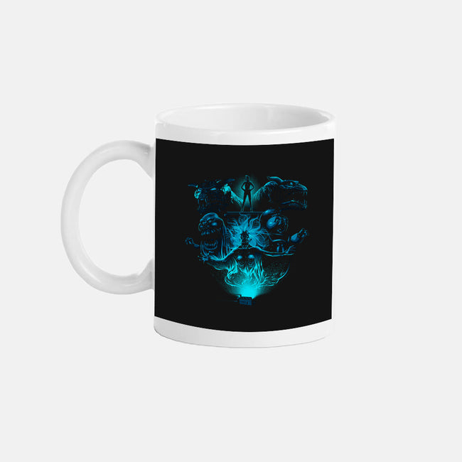 Trap The Ghosts-none glossy mug-albertocubatas