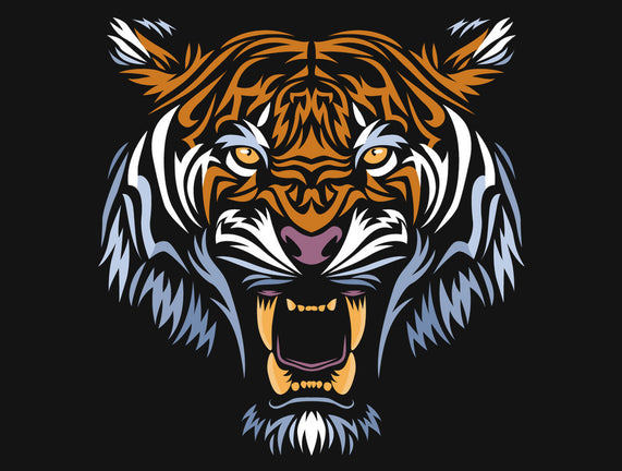 Tribal Face Tiger